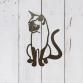 Cat Sitting Wall Art